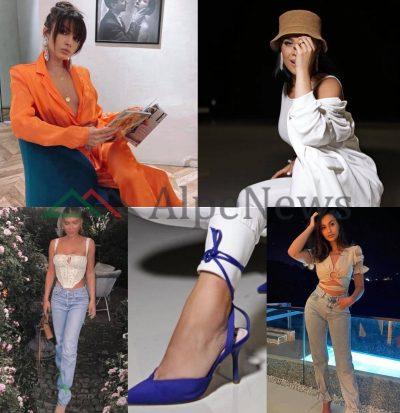 """DONI TË DUKENI STIL? Shihni këto FOTO nga trendi i ri i vajzave VIP në """"Instagram"""""""