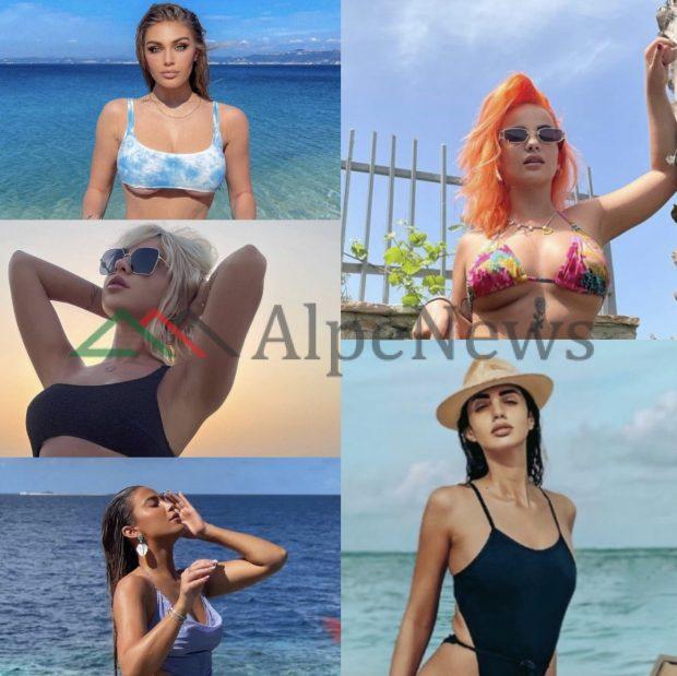 ME NGJYRA DHE DETAJE/ Sezoni i ri, këto janë rrobat e banjës që po preferojnë vajzat VIP (FOTOT)