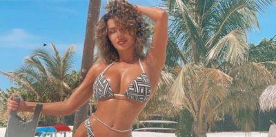 """""""LE TË THYEJMË PAK ZEMRA""""/ Tayna publikon FOTO me bikini që po """"çmend"""" fansat"""