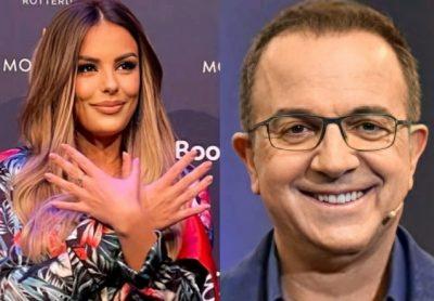 """""""TË SËMURË MENDORË""""/ Mediat serbe shpërthyen ndaj Anxhelës pasi bëri shqiponjën në """"Eurovision"""", Ardit Gjebrea reagon i revoltuar"""