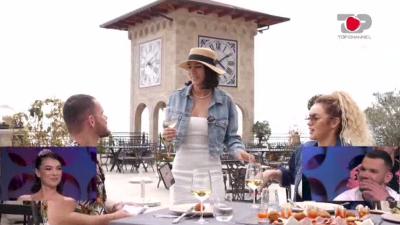 TAKIM NË NJË DITË ME DY VAJZAT/ Antonela shokon Çimin, i sjell Olën në tavolinë dhe vazhdojnë bisedën