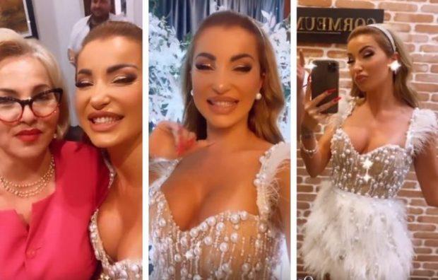 FESTOI 33-VJETORIN/ Me VIP-a dhe super atmosferë, brenda ditëlindjes së Roza Latit (VIDEO)