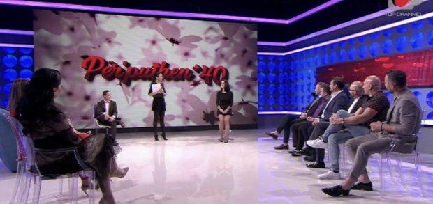 """""""NUK TË PËLQEN TIPI IM…""""/ Stela refuzoi të deklarohej, plas debati i fortë mes konkurrentëve në """"Për'puthen +40"""""""