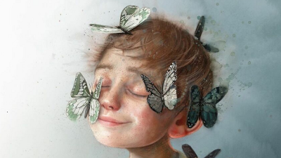 """PIKTURA """"TË GJALLA"""" DHE KUPTIMPLOTA/ Kjo artiste impresion ndjekësit me ilustrimet unike (FOTOT)"""