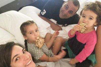 ÇDO DITË FESTË NË FAMILJE/ Emina Çunmulaj poston FOTO të vajzave të cilat po luajnë me babain