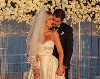 """""""DITA JONË""""/ Rezarta Shkurta publikon VIDEOKLIPIN me momentet më të bukura nga ceremonia martesore"""