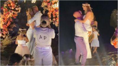 DALIN PAMJET NGA CEREMONIA/ Pas shumë vitesh së bashku, Salsano Rrapo martohet me partneren në ditën e lindjes. Shoqërohen nga…