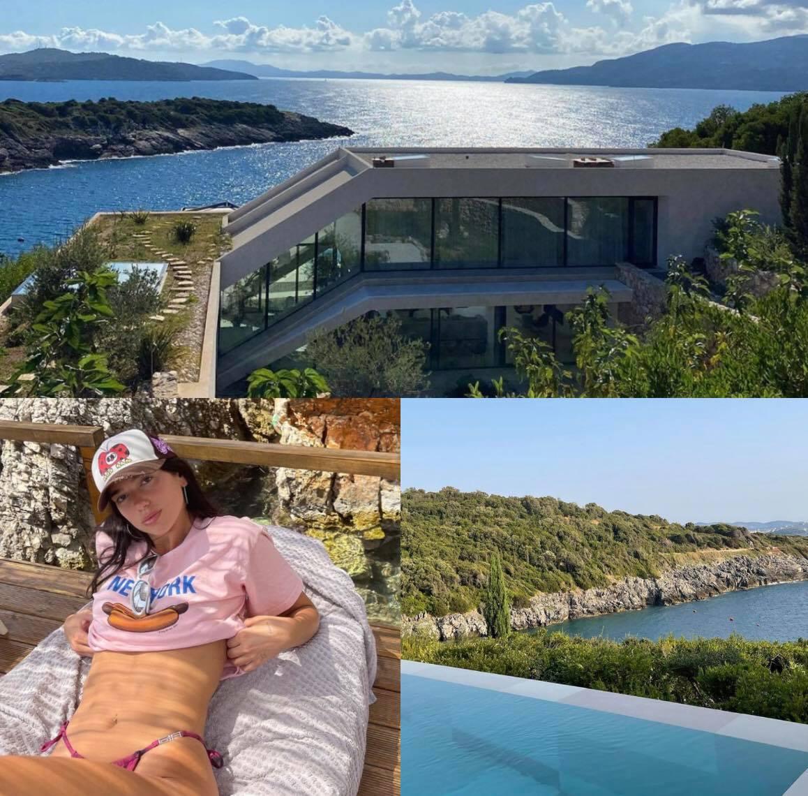 DALIN PAMJET/ Ja super VILA ku Dua Lipa kaloi pushimet me familjen dhe të dashurin e saj në bregdetin shqiptar