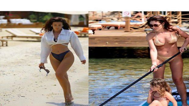 NORA ISTREFI ME PUSHIME/ Poston FOTO me bikini dhe tregon linjat e saj elegante