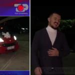 """MOMENTI EMOCIONUES/ Hyseni i dhuron """"live"""" makinën Nikut për të lehtësuar transportin (VIDEO)"""